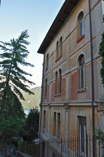 Fassade Old House Lugano, Switzerland Lugano