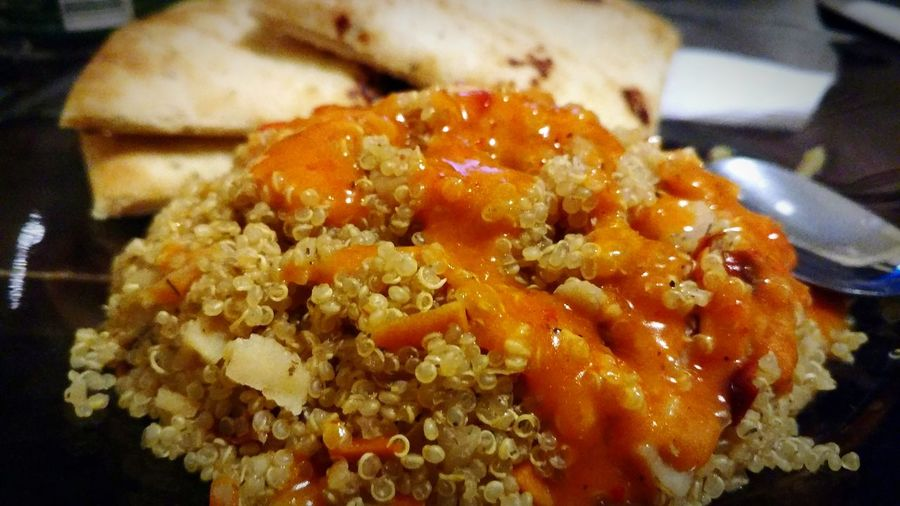 Couscous Naanbread No People Food Healthy Eating