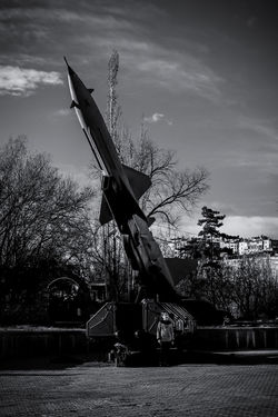 Black & White Rocket Army Army Life Black And White Black And White Photography Blackandwhite Blackandwhite Photography Blackandwhitephotography Millitary Rocket Defense System