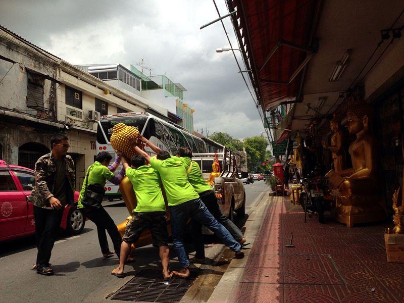 Streetphotothailand Iphonephotography Thailand Streettun Buddha