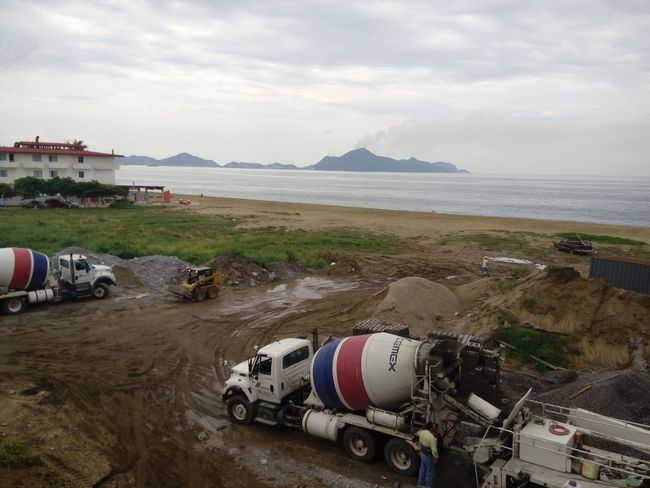 Beach No People Business Finance And Industry Sea Water Day Nature Sky Working Tools Workingday Work In Progress Construction Site Working Time Working