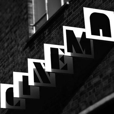 Cinema Blackandwhite Facades Exterior Signs Sign London Shoreditch Brick