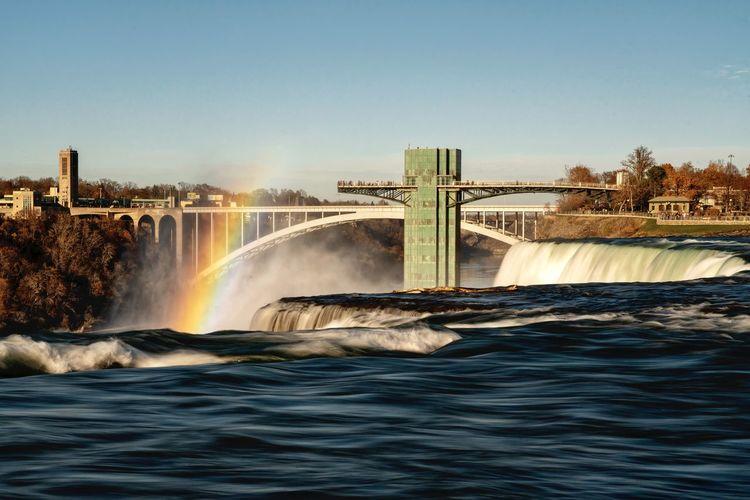 American falls rainbow