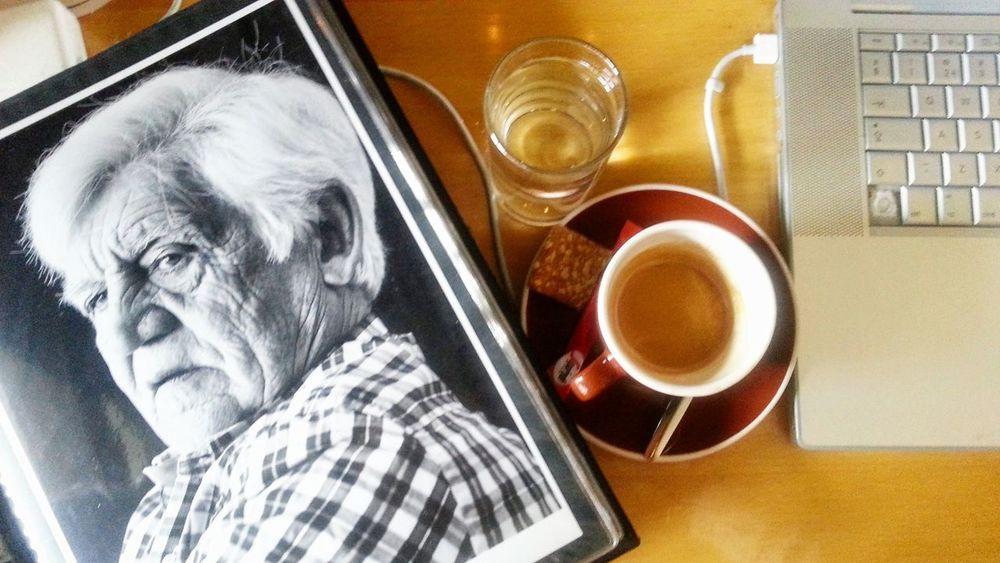 Coffe And Cigarretes  Portrait Monochrome Fotofantast photography