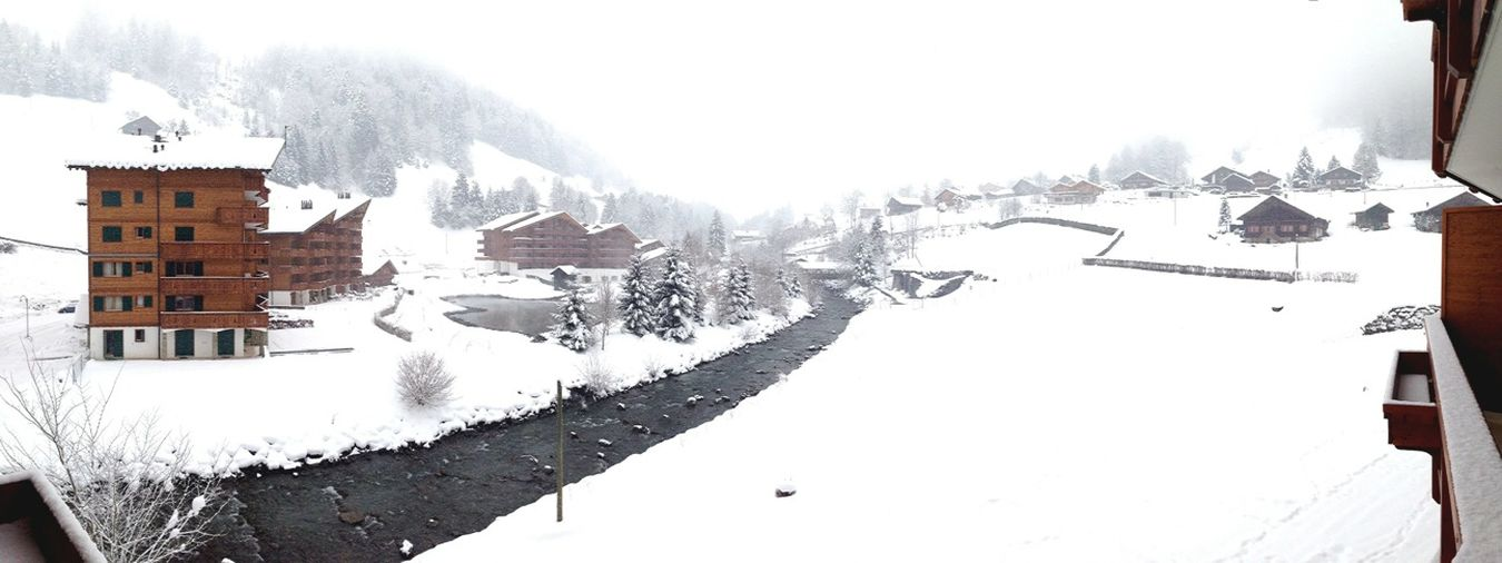 Spa Resort In Snow