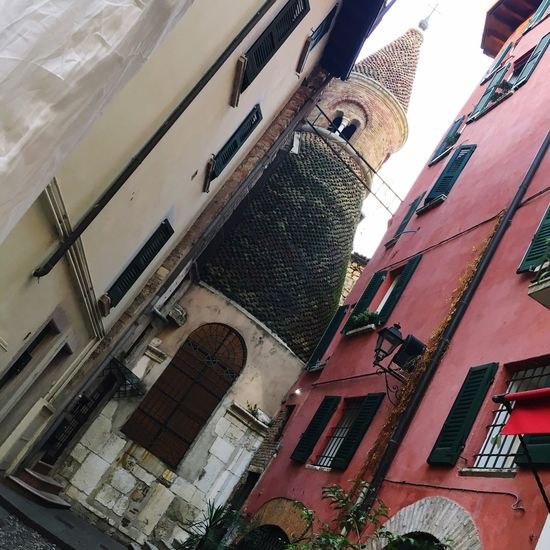 Architecture Building Exterior Church Santa Rita Church Brescia No People Low Angle View Outdoors Like A Tourist In My Town