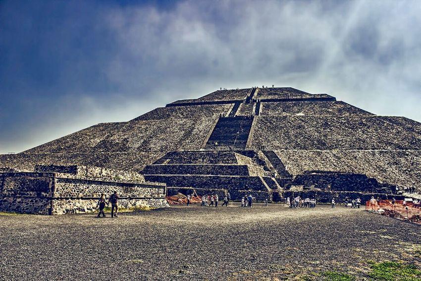 Pirámides De Teotihuacan Pyramid Teotihuacán Pyramids Architecture Ancient Civilization History Travel HDR Teotihuacan Piramide Del Sol Ancient Ruinas