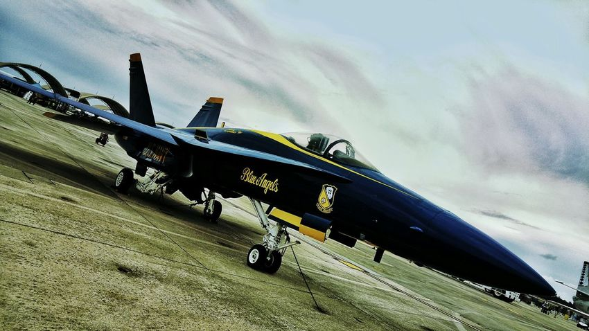 Fighter Jet Military Aircraft Blueangels F18 LG G4📱