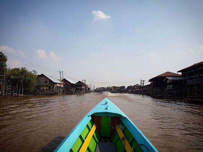 INLE LAKE Inle Inlelake Myanmar Lake Igersmyanmar AOV Artofvisuals Instagood Instagram Sky Burma Asiaonetravelsnaps Myanmarvenice Floatingvillage Yourworldgallery