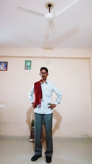 Hari Om One Man Only Only Men One Person Adults Only Full Length Adult Indoors