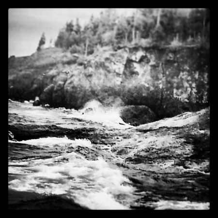 Black & White lake superior