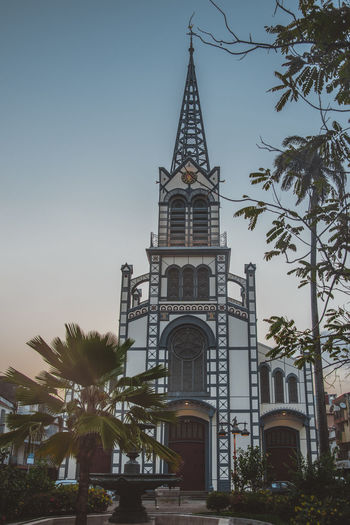 Cathédrale Saint-Louis de Fort-de-France Cathedral Architecture Building Building Exterior Built Structure Caribbean Colonial Architecture French Island Location Low Angle View Old Buildings Place Religion Spirituality Treasure From The Past
