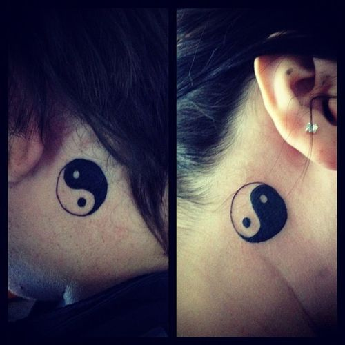 Yinyang Tattoos Twiners