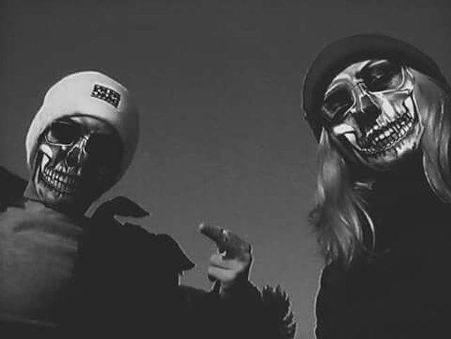 Old School Old Skulls RunDmc Love Bae  Today's Hot Look we run the mc's ✌💀💙