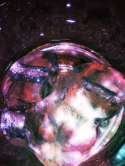 Pink ice. Effects & Filters Fun Ice Pink Funn Glass Photography Water