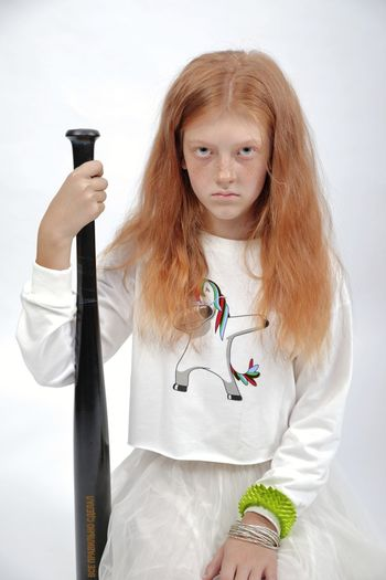 redhair girl Redhead Redhair Baseball Baseball Bat Girl Model Models Young Model Young Models Child Child Model Freckles Grimey Portrait White Background Looking At Camera Front View Long Hair Dyed Red Hair Dyed Hair Freckle Wavy Hair My Best Photo International Women's Day 2019 The Portraitist - 2019 EyeEm Awards