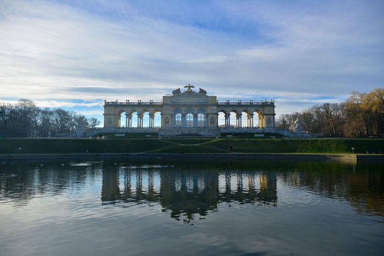 Architecture Building Exterior History Outdoors Photography Reflection Schönnbrunn Symmetrical Tourism Travel Destinations Vienna