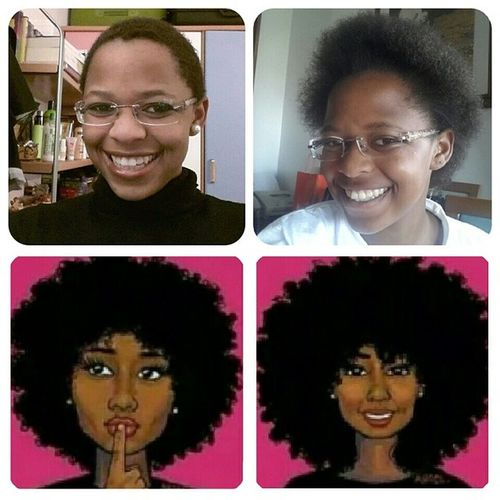 My hair journey 6 months after BC No_chemicals African_queen Angolanasnaturaiseamigos Natural_lady