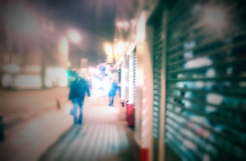 Street life Wet