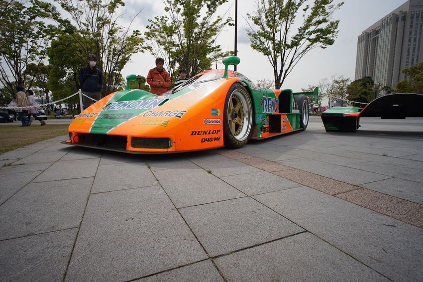 Motor Sport Japan 2016 Legend Of The Mazda Mazda 787B #202 Mazda Racing Car Motor Sport Car Cars EyeEm Best Shots Super Wide Angle 広角機動隊 Enjoying Life Snapshot Taking Photos Walking Around お写ん歩