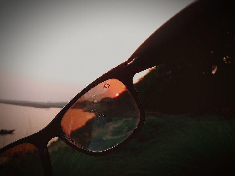 Rayban Hello World Instagram Sun Evening Light And Shadow EyeEm Best Shots Eyem Lover EyeEm Creativity