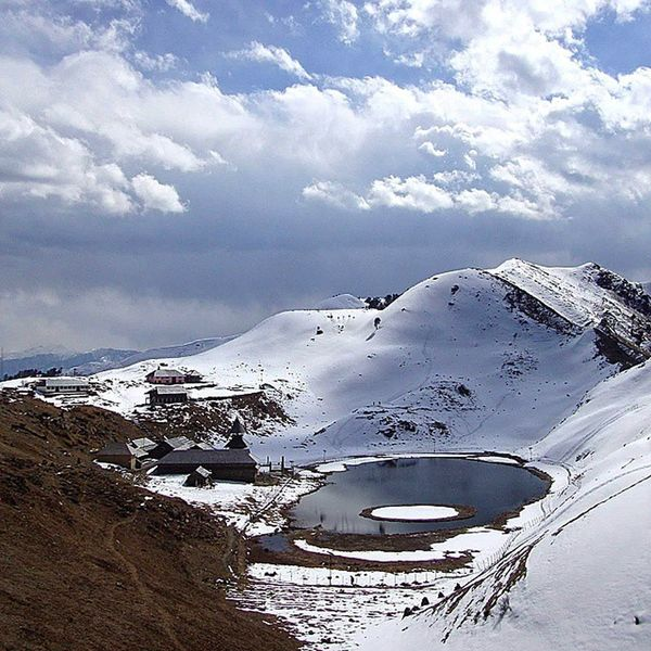 Prashar Trek Image Credit : @nishant_masoom Would you like to spend a weekend this winters walking on fresh snow around the famous Prashar Lake. This lake is said to have no bottom. For Trekking Contact at. Call @ +91 9816669947 Email : info@himalayandrifters.in HimalayanDrifters Lifeinmountains CallofMountains Trekking Adventure Nature NOstress InTheNaturesLap Instapic Incredibleindia Intagram Instapic Mandi Devbhoomi Himalayas India Indiaphotosociety Adventure Hiking Campingtrip Greatlakes Highaltitudelake Picoftheday