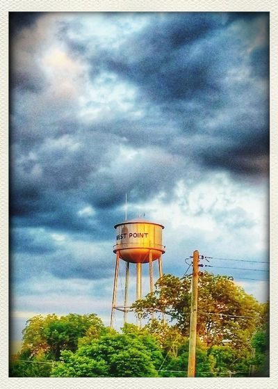 Small Town Feel Water Tower Home