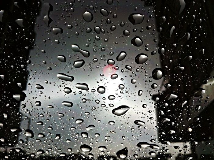 Look Up And Thrive Through My Windshield IPhone Water_collection Waiting ^_^