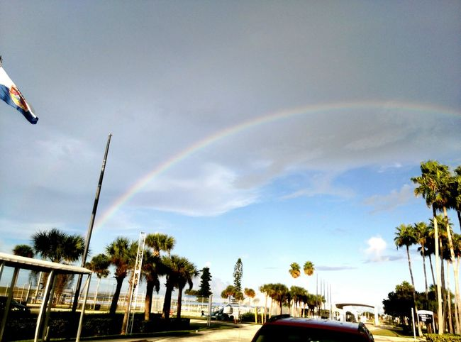 The funny thing is, from the perspective of this picture, the end of the Rainbow was where the victory casino ship was docked... Hello World Cape Canaveral Rainbows End