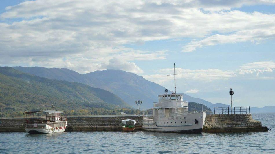 Macedonia Ohridlake Boat Popular Photos The KIOMI Collection Landscape Traveling