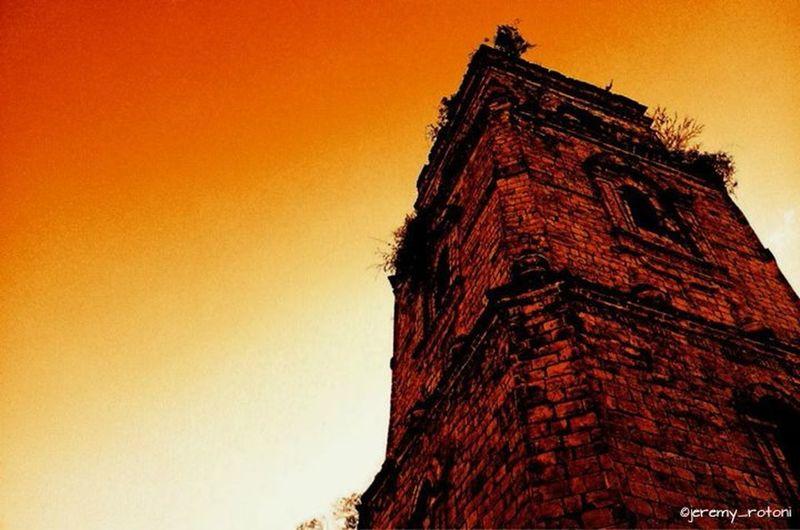 Orange By Motorola Eyeem Philippines Orange Church Baroque Baroque Architecture Earthquake Baroque