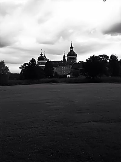 Castle SWEDEN_bw Old And Beautiful Grippsholms Slott