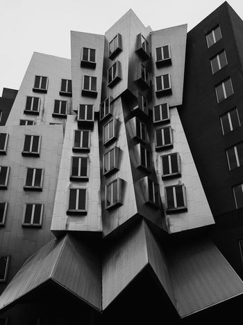 Gehry - Cambridge Massachusetts New England  Buildings EyeEm Best Shots - Black + White EyeEm Best Shots Black And White Photography Blackandwhite Black And White Mit Architecture Architecture_collection Architectural Detail Architecturelovers Architectural Feature Architecture_bw Architectureporn Archilovers Architecturephotography ArchiTexture