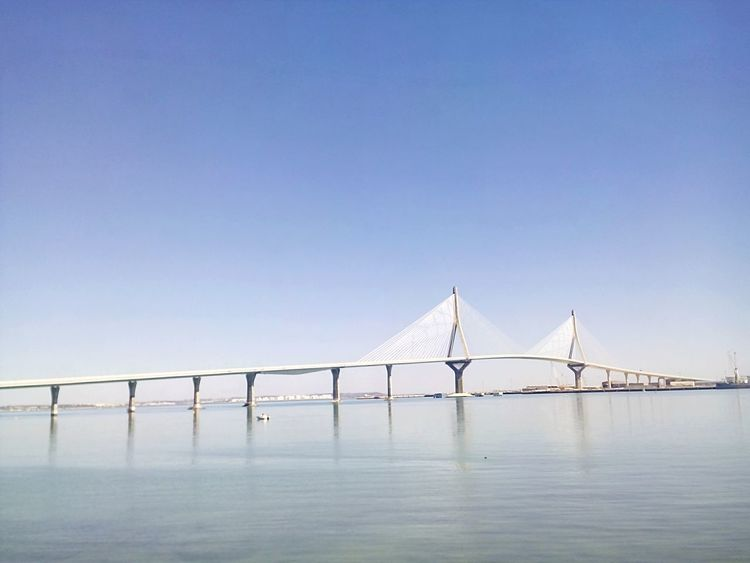 Sea Bridge SPAIN Andalucía Cadiz Cadizfornia Cadizturismo Sunny Day Today ☺ Puente Día Soleado Sea And Sky Sea View Seaside