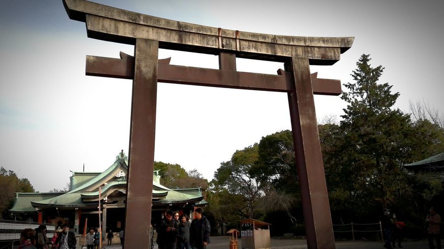 the gate of
