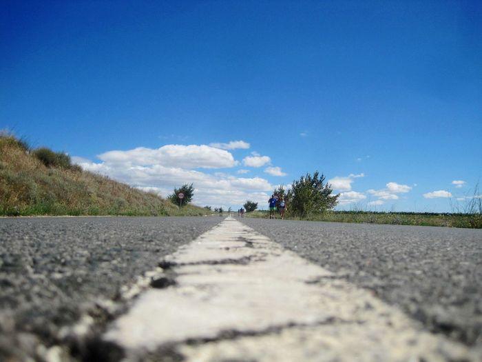 Road to Viana, El Camino De Santiago , CaminodeSantiago Trasportation