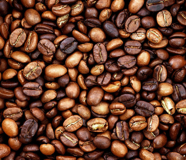 roasted coffee beans, used as a background Coffee Roasted Coffee Bean Food Brown Freshness Caffeine Roasted Close-up Coffee Bean Aroma Refreshment Backgrounds Texture Grain
