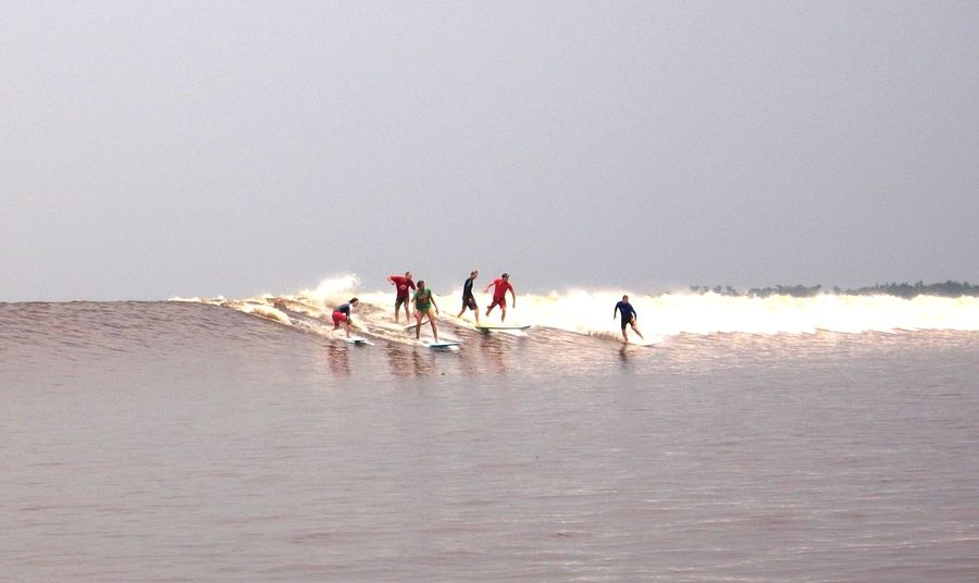 long time surfing in Bono Wave Adventure Buddies Showcase: January Surfingphotography KamparRiver Riau Indonesia Surf Life