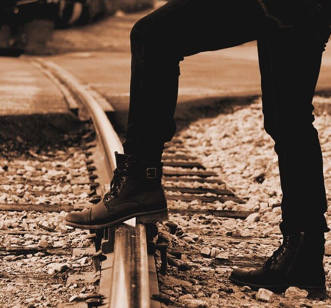 Outdoors Reedit Train Tracks Boots Images Fashionable Ftwotw Urban Lifestyle Lines Music Photography  Scenics Urban Exploration