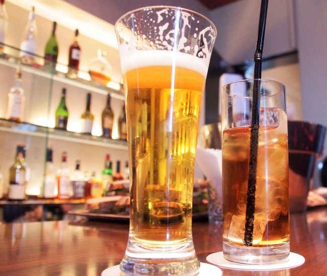 Beer Japan Tokyo Alcohol Alcoholic Drink Bar Bar - Drink Establishment Beer - Alcohol Beer Glass Close-up Drink Drink Glass Drinking Glass Drinktime Focus On Foreground Food And Drink Freshness Frothy Drink Refreshment Travel Destinations