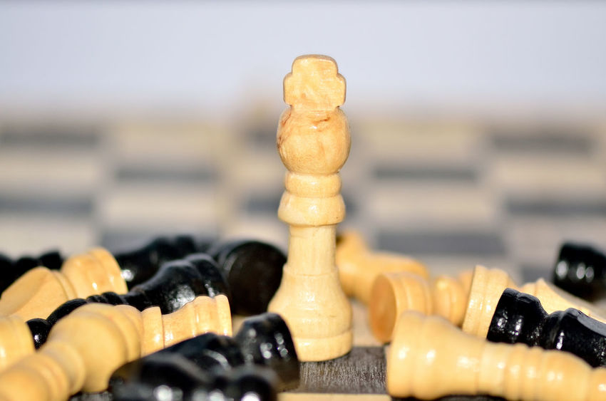 Close-up Indoors  Leisure Games No People Arts Culture And Entertainment Chess Piece Chess Chess Board Day Game Over Chessboard Chesspieces Chessboard Pieces Standing Chess Game Chesse ♥ Gaming Time Chess Figures Backgrounds Chessgame Chess Queen Queen - Chess Piece Chesse! Victory
