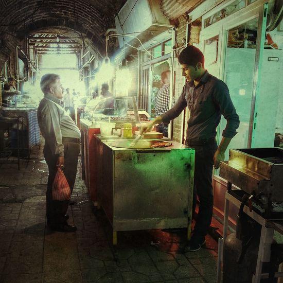 Iran Zanjan Bazaar Street Photography Mobail Photo Man Tourist Travel Mobartphotography LG G4