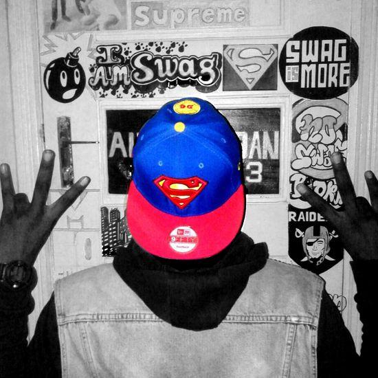 Moi et ma Snapback: Superman Street Fashion Fantasy Swag Swagg Portrait
