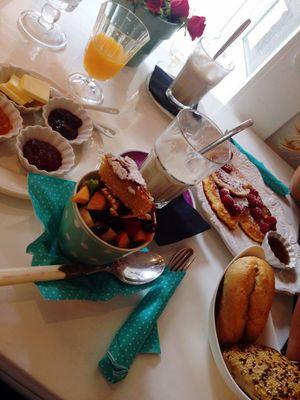 yuuuummmi Lunch avéc my love Saturdaymornings