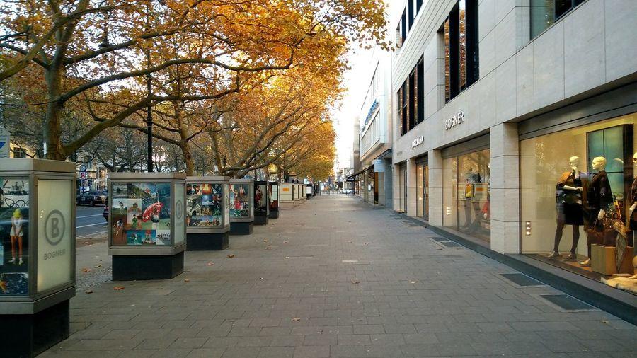 Autumn Kudamm. · Berlin Germany 030 Kurfürstendamm Shopping Shopping Street Street Urban Landscape Cityscape Walking Down The Street Into The Void Fall Cold Day