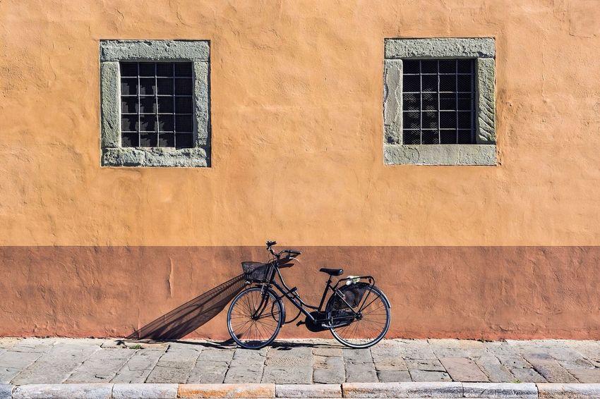Bicicleta Bicycle Window Land Vehicle Cycle Bicicleta Bike Simetría. Simetry Outdoors Street Streetphotography