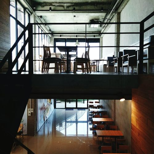 Restaurant Dining Room Canteen Kitchen Cafe Table Chairs Table Chair Staircase Supermarket Thailand Chiang Mai   Thailand Day Office