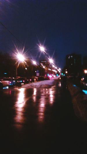Москва вечер люблю гулять когда темно