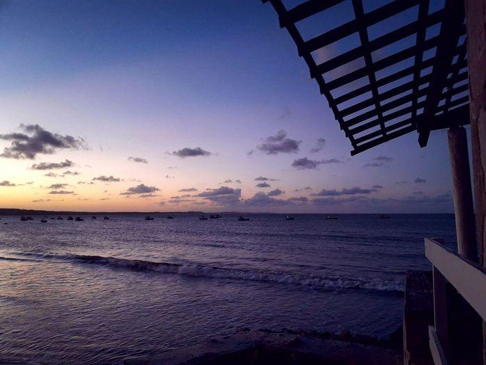 Sea Sunset Water Beach Horizon Over Water Sky Nature