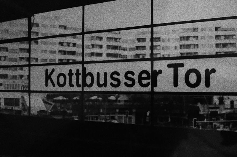 kotti 08:45 Kotti Berlin Blackandwhite Analogue Photography 35mm